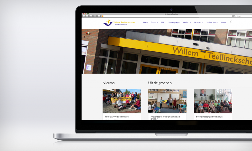Website Willem Teellinckschool
