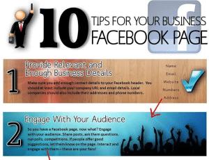 Tien tips voor je Facebook bedrijfspagina