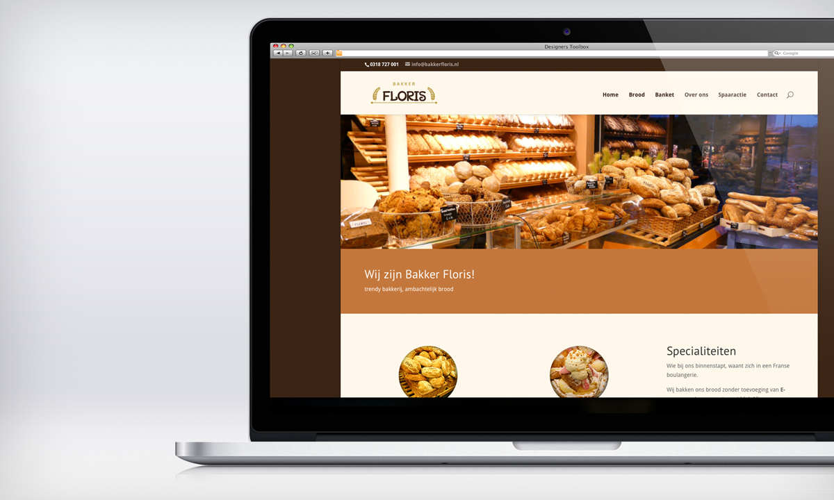Website Bakker Floris