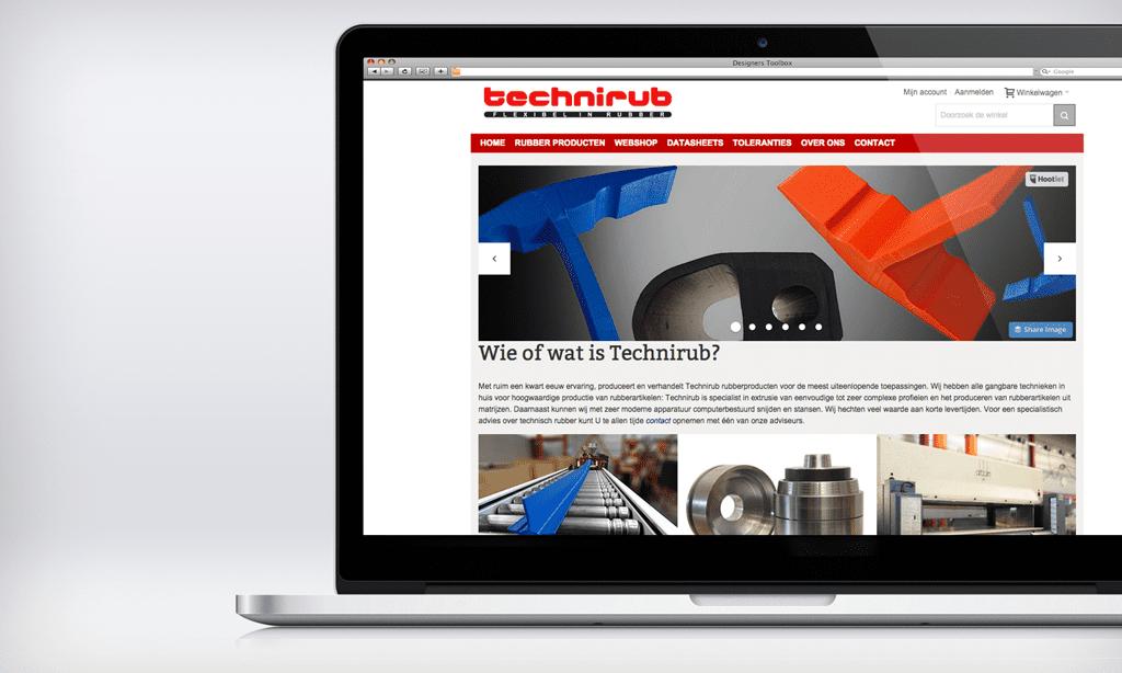Optimalisatie Technirub.nl