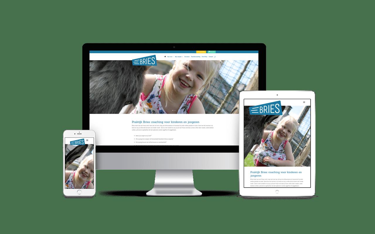WordPress responsive website Praktijk Bries Veenendaal