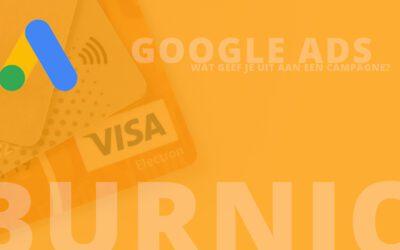 Wat geef je uit aan een Google Ads campagne?