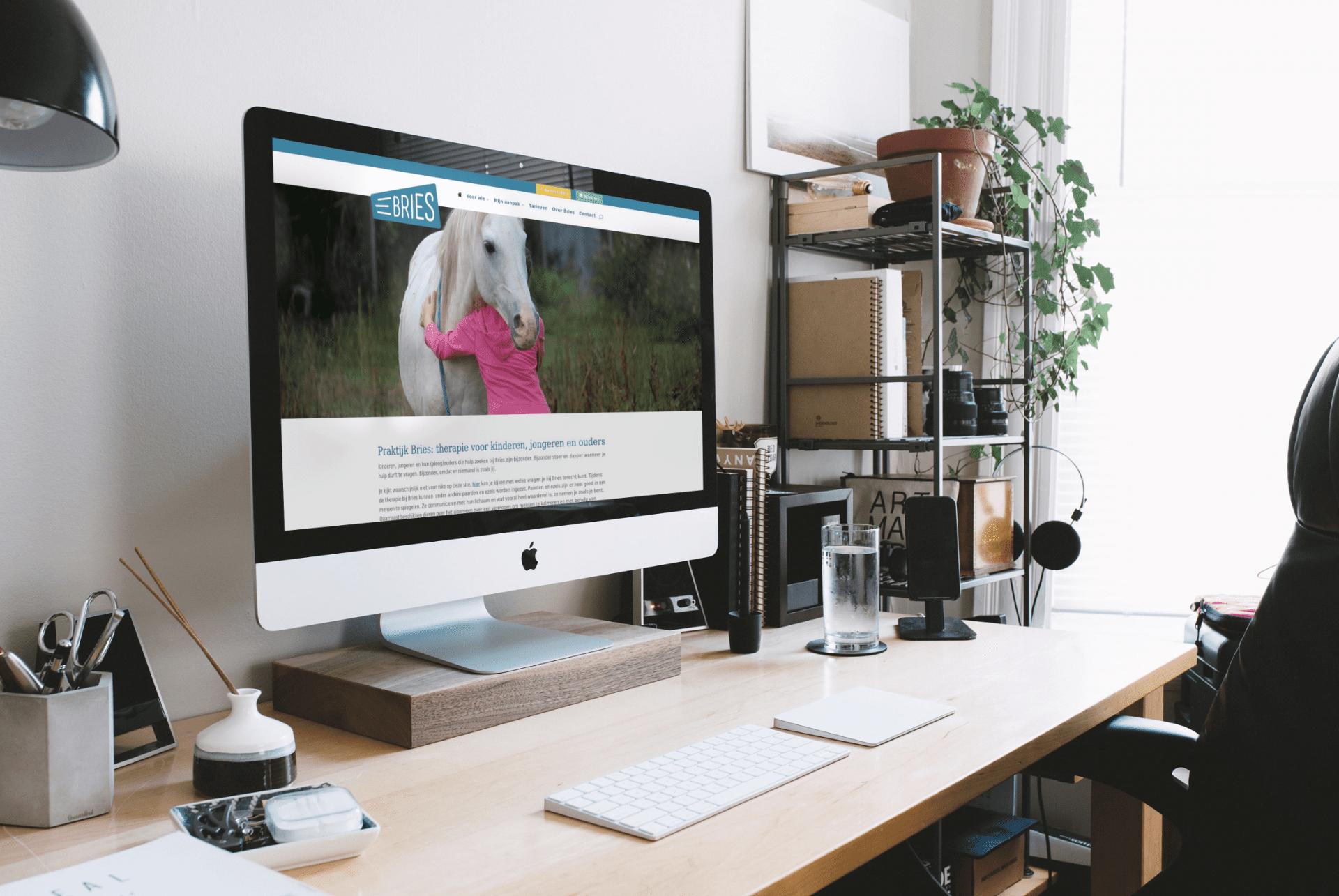 Praktijk Bries Veenendaal website voor Hanneke Stam