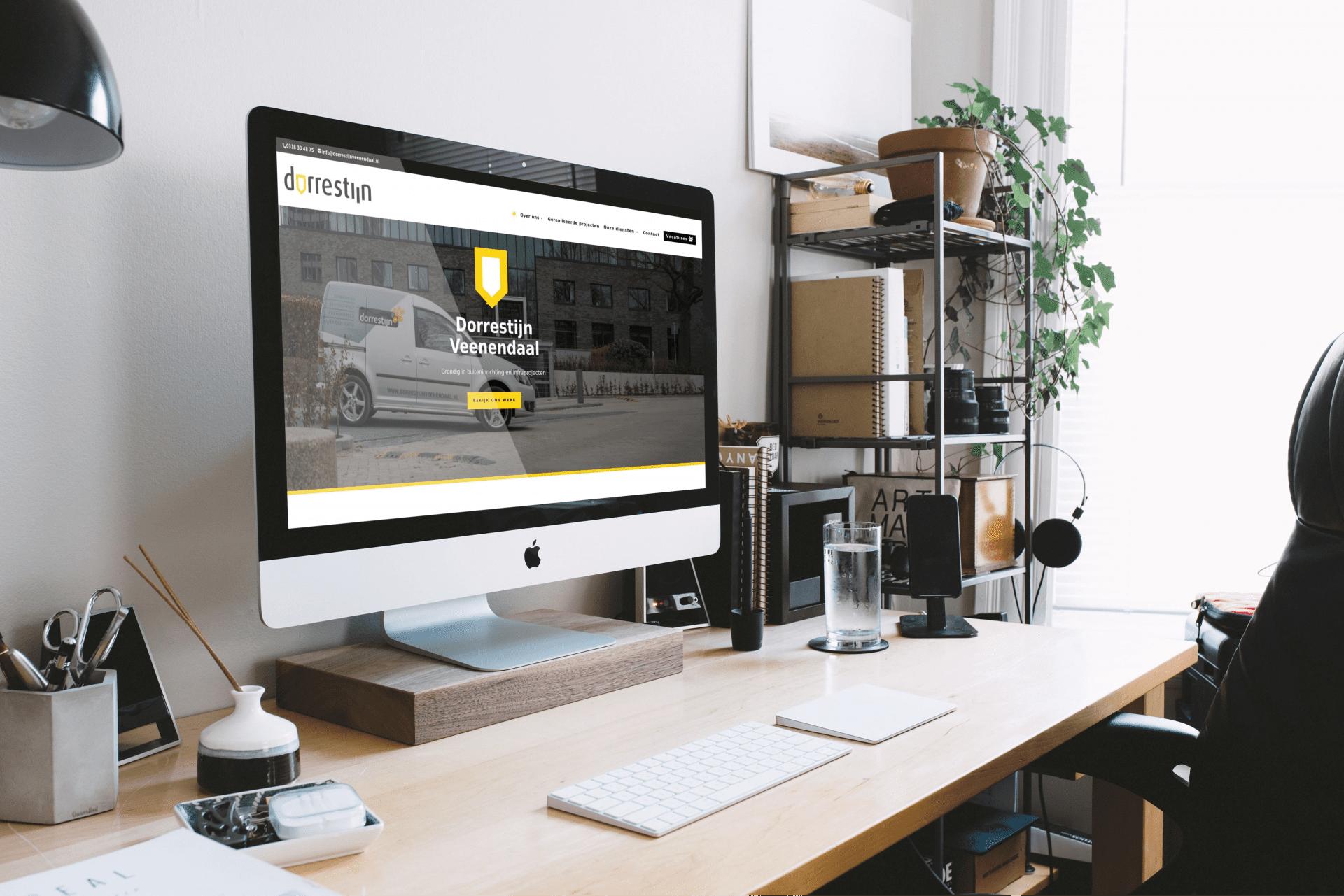 WordPress website Dorrestijn Veenendaal door Burnio communicatie