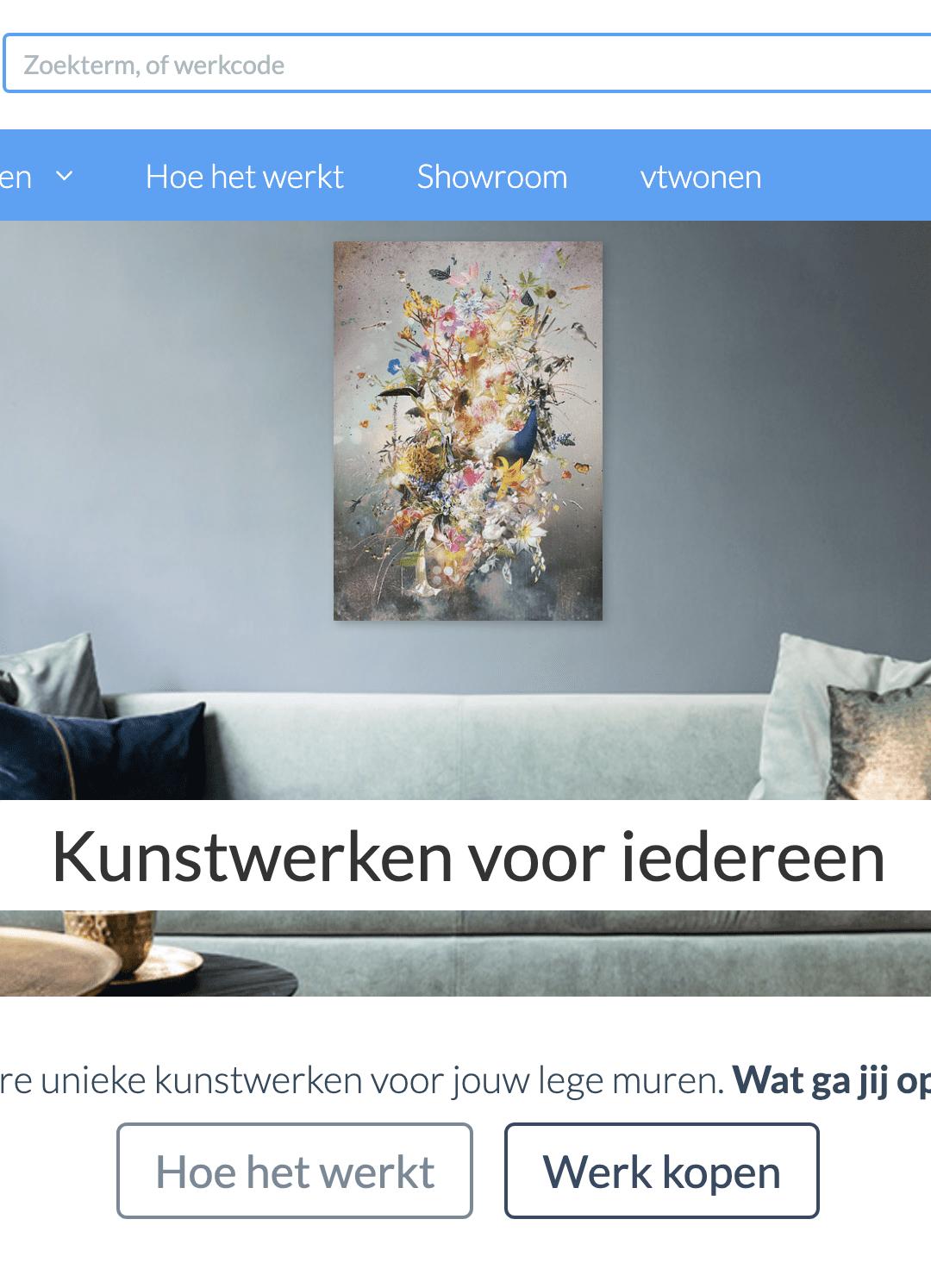 Kunstwerk aan je muur?
