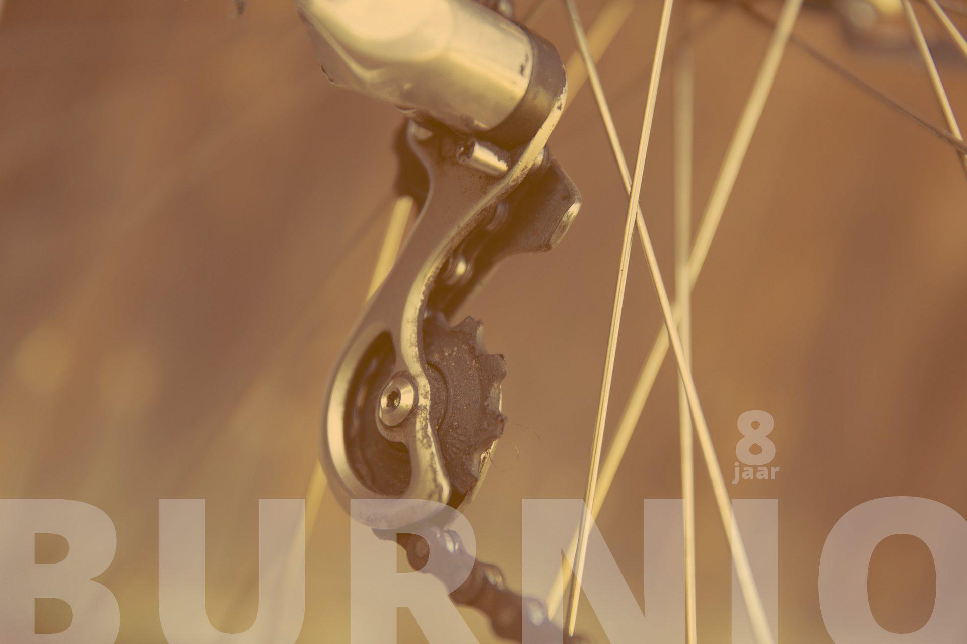 Burnio is 8 jaar onderweg